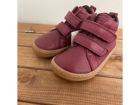 Barefoot kotníčkové boty Autumn - BORDEAUX, Froddo