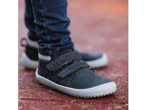 detske barefoot topanky be lenka play charcoal 24487 size large v 1