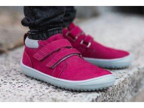 detske barefoot topanky be lenka play dark pink 24082 size large v 1