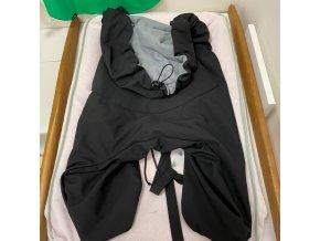 Softshellová zateplovací kapsa velká - černo/šedá, VeKa nosítka