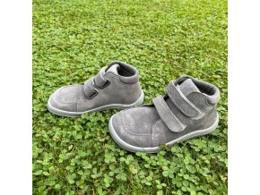 Baby Bare Shoes Febo Fall Grey