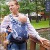 Fidella Fusion 2.0 TODDLER ergonomické nosítko s přezkami -  Outer Space – blue -