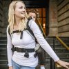 Fidella Fusion 2.0 TODDLER ergonomické nosítko s přezkami -  Iced Butterfly - smoke