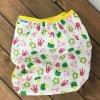 Svrchní kalhotky PUL - patentky - princezna se žlutou, KatyvBaby