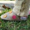 liliputi soft paws baby shoes polka dots pink 3787