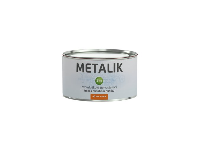 Tmel karosářský Metalik s hliníkem