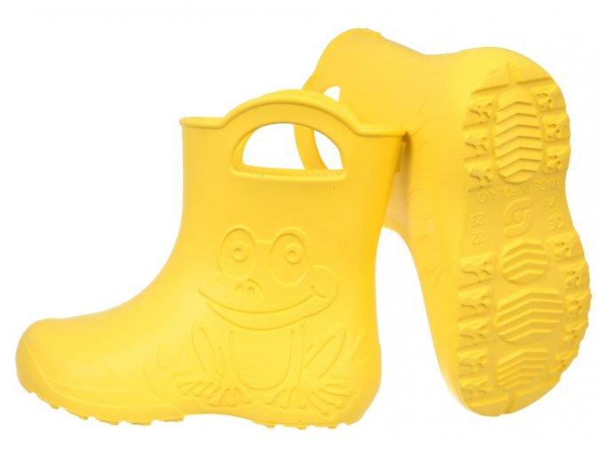 camminare žluté