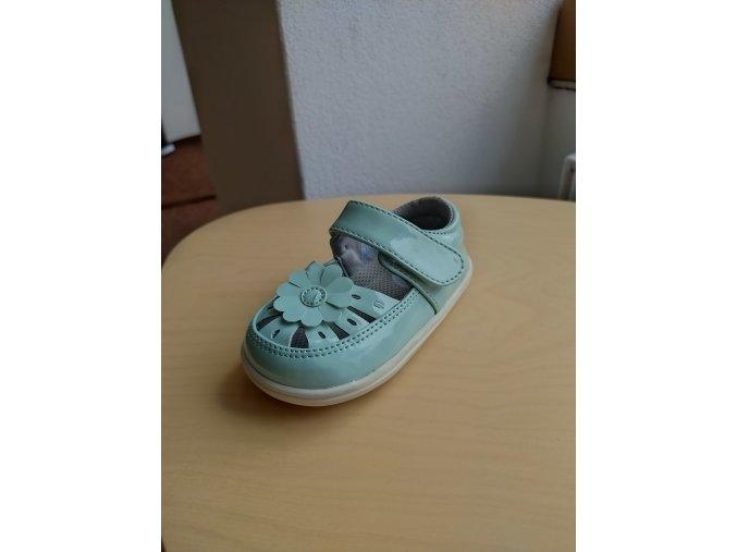 Little blue lamb sandálky