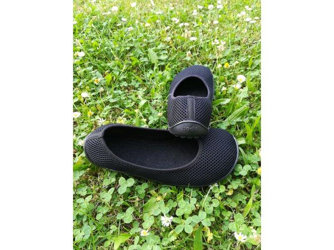 BEDA barefoot baleríny černé