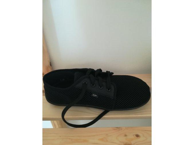 BEDA barefoot tenisky BF0002/ST - černé