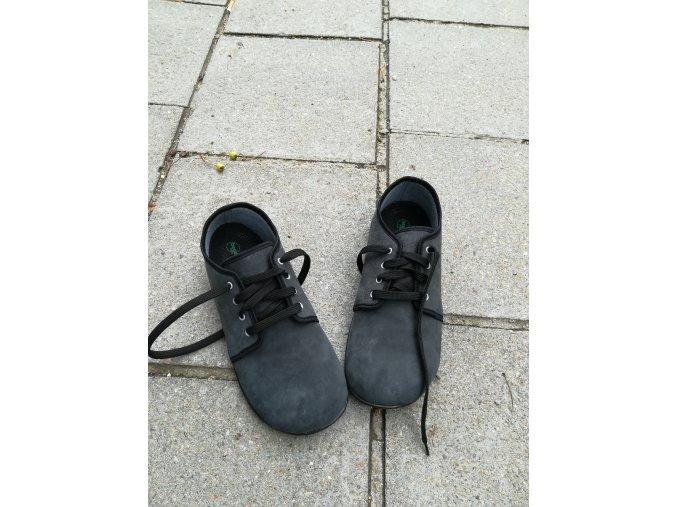 Beda barefoot kožené DENIM s membránou