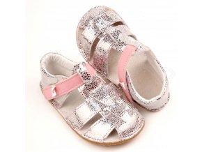 Ef sandály silver