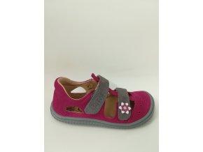 Filii barefoot Kaiman velcro pink/grey M