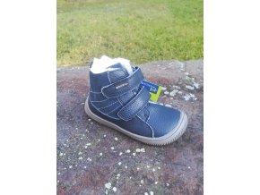 Protetika KABI denim - chlapecká zimní obuv