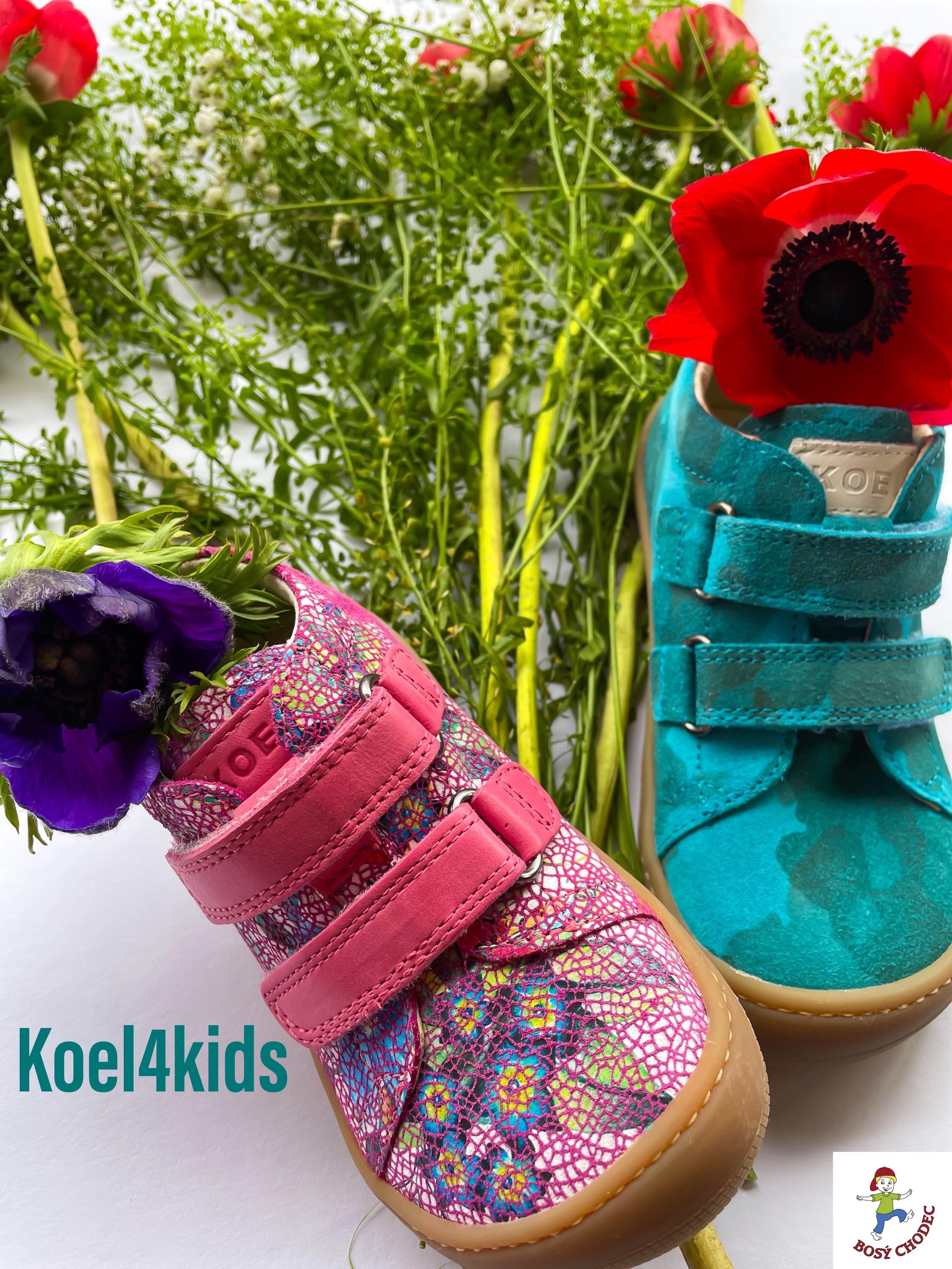 Koel4kids celoroční dětské boty