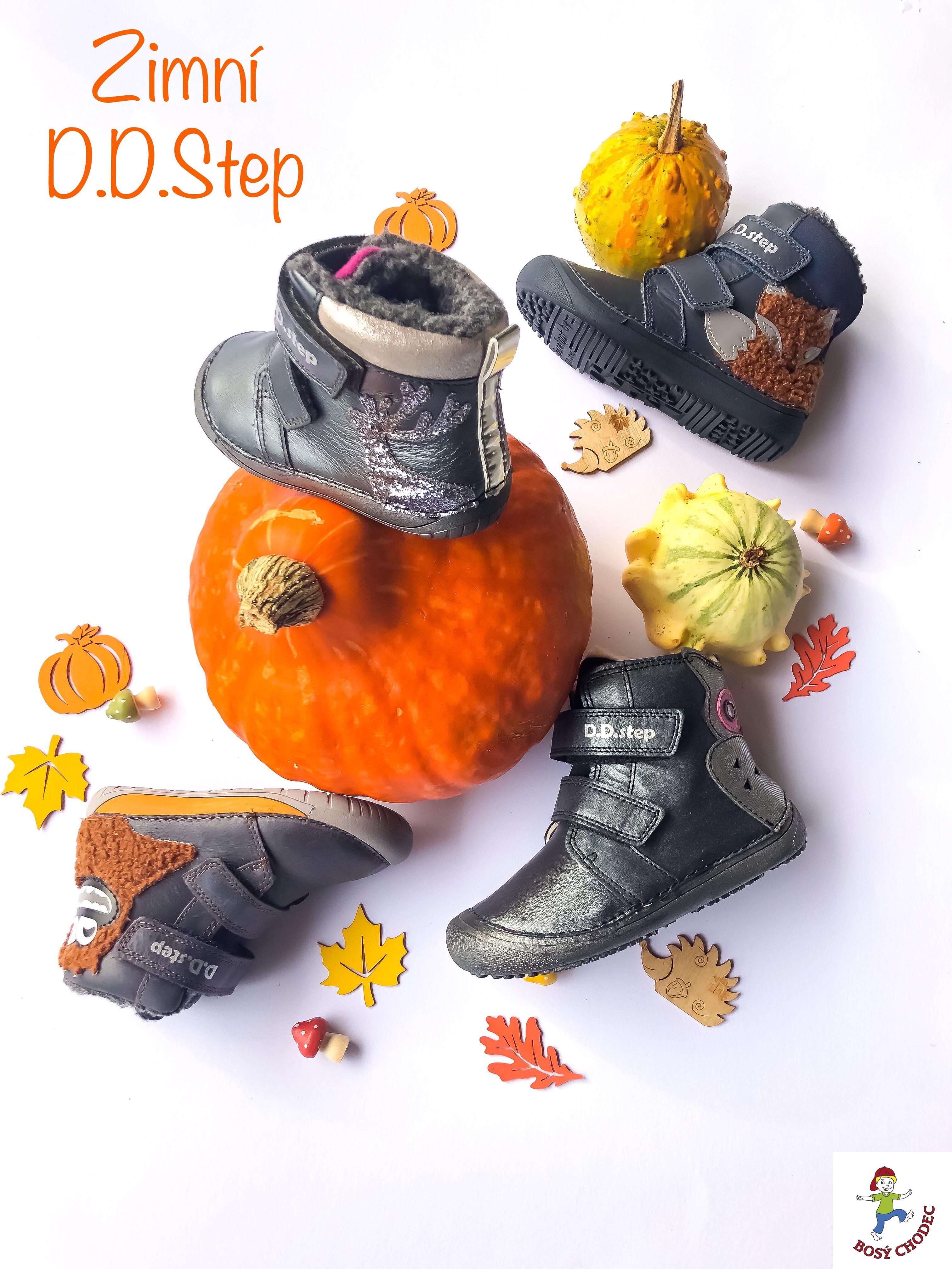 Dětské zimní boty D.D.Step