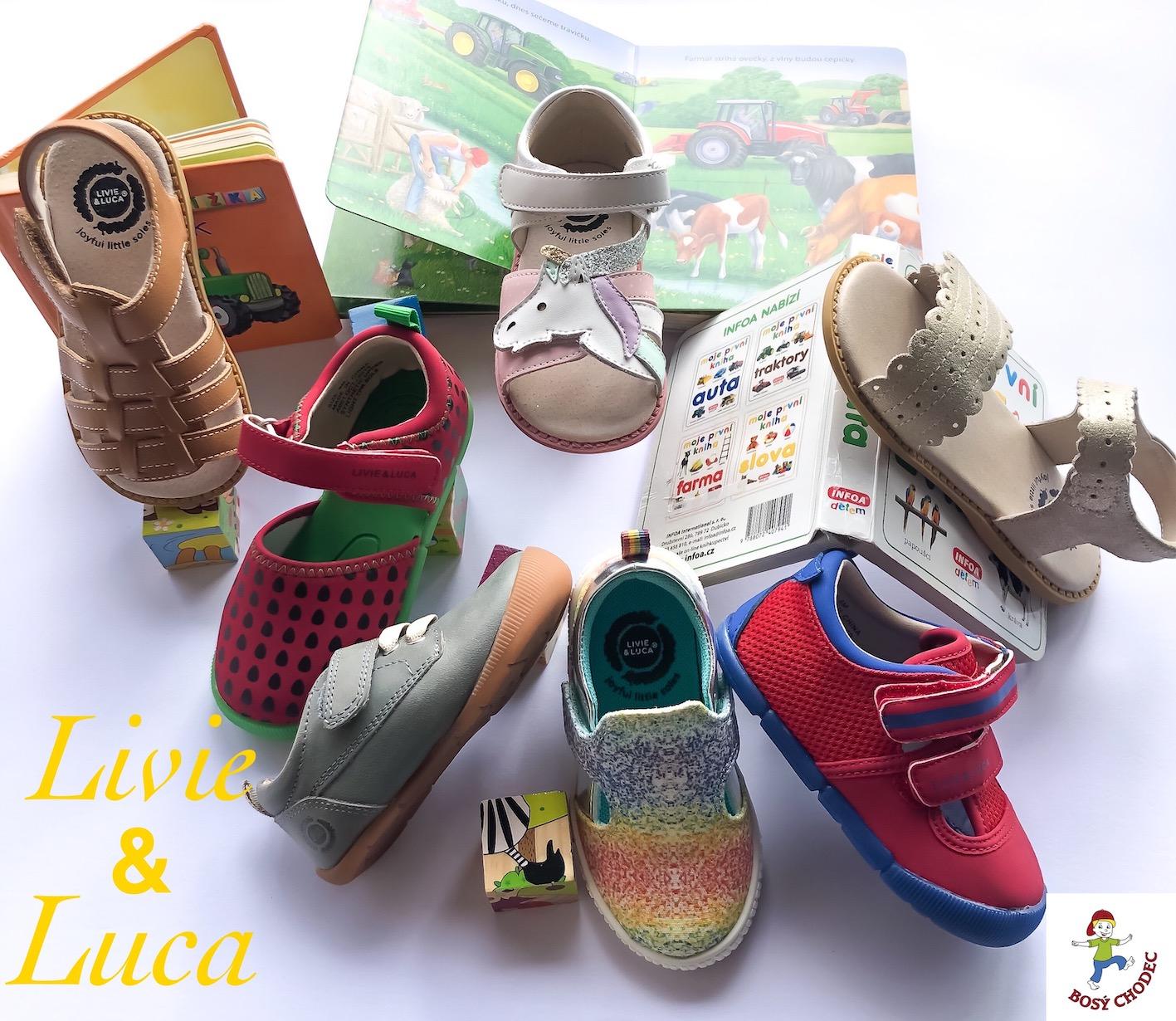 Livie and Luca - jarní a letní dětské boty