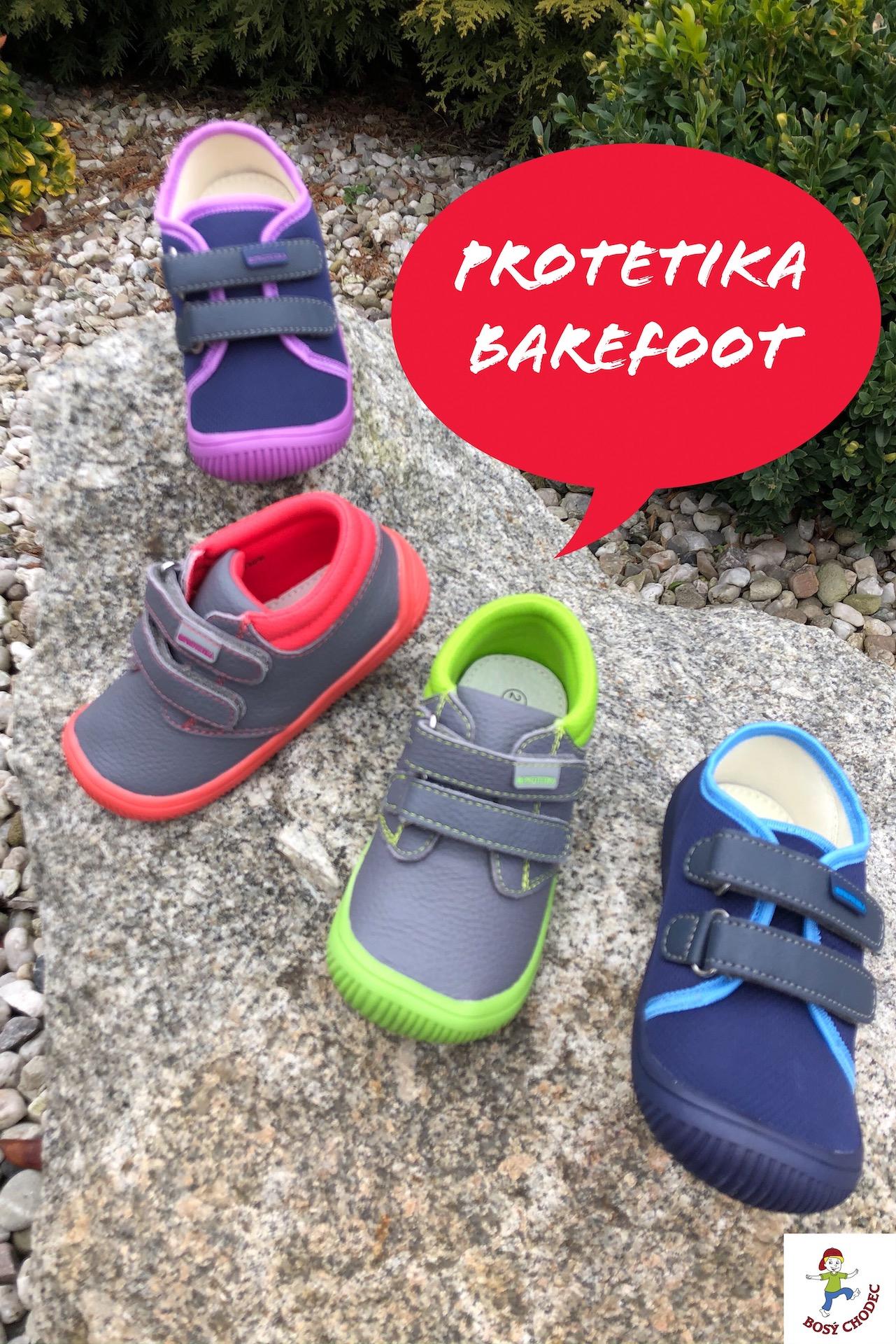 Dětské barefoot boty Protetika celoroční