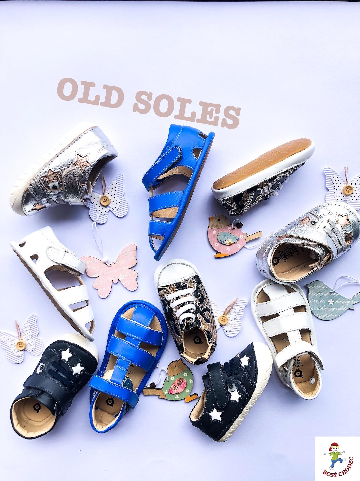 Old soles - jarní a letní dětské boty