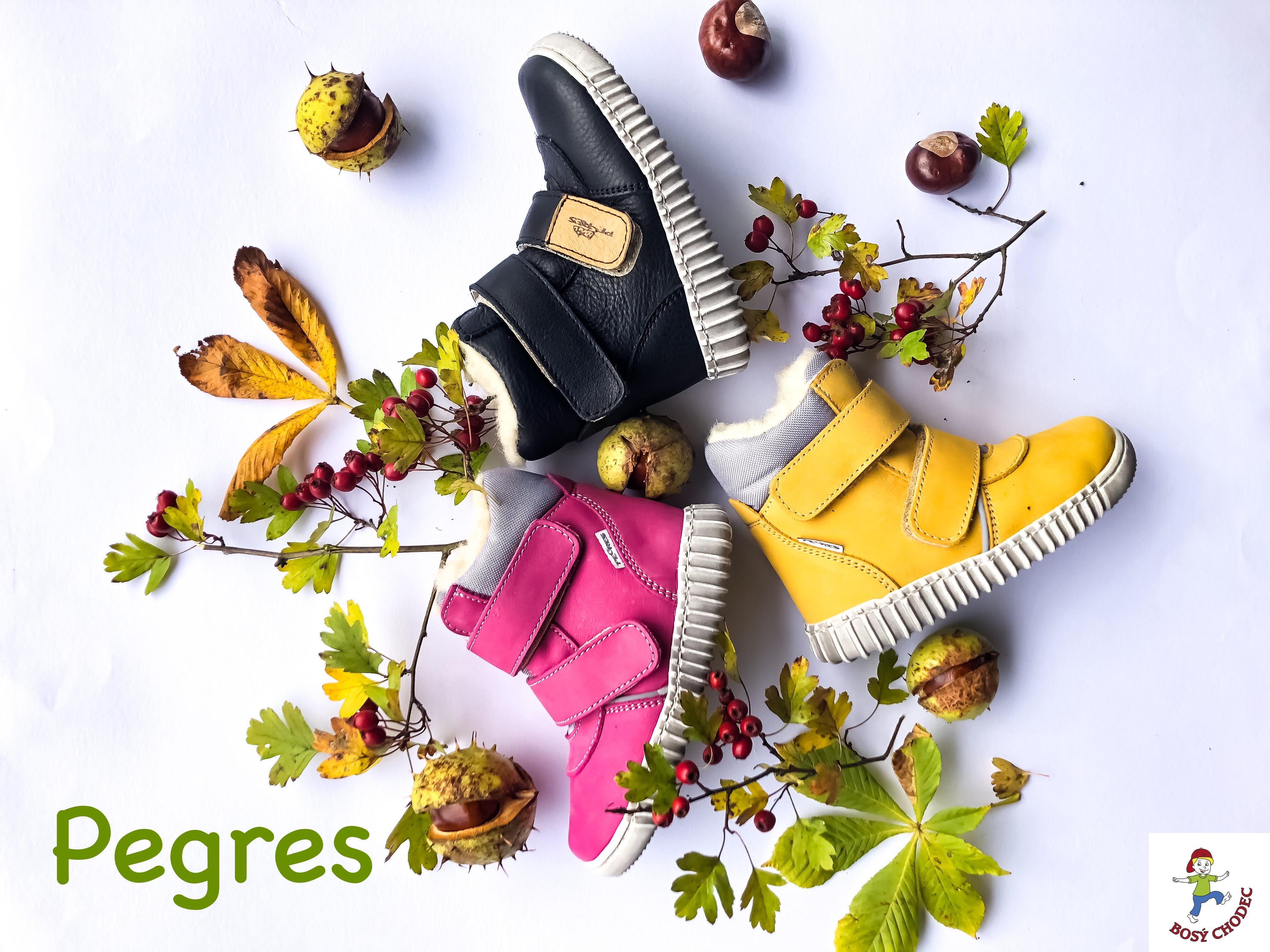 Dětské zimní boty Pegres