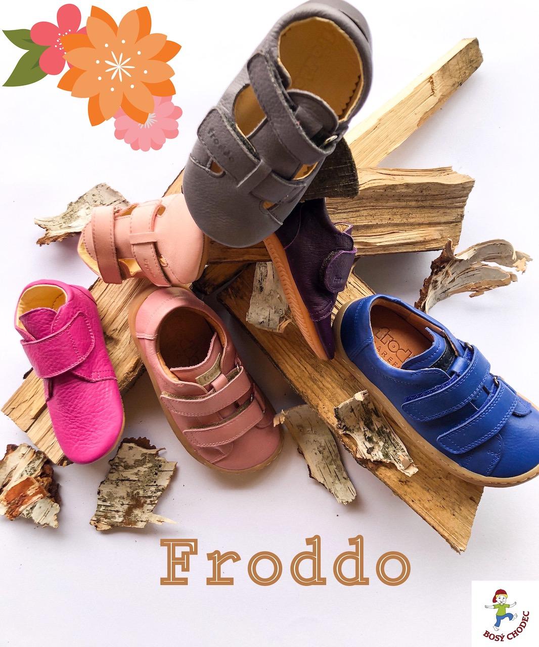 Dětské boty celoroční Froddo - SS20