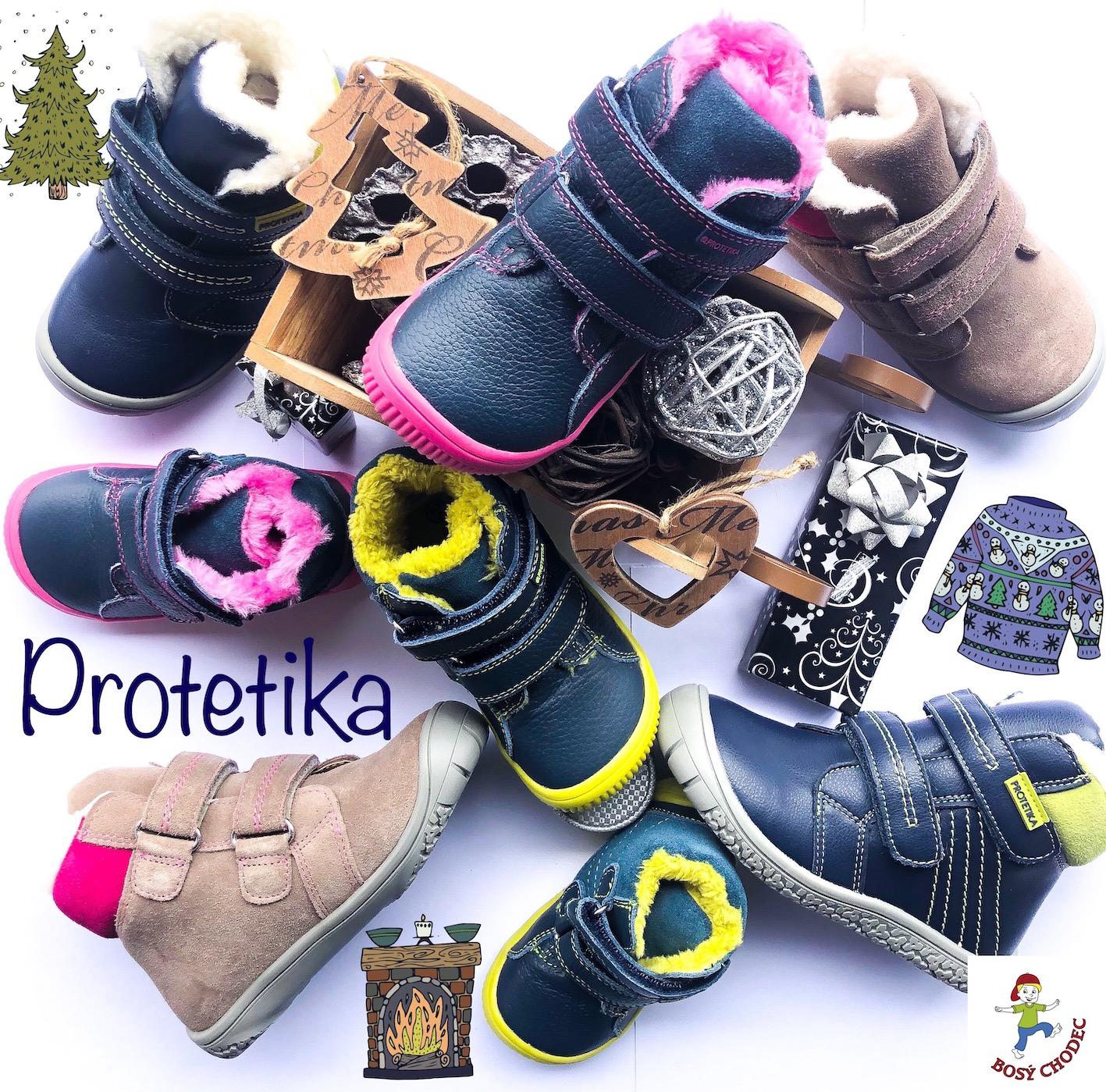 Protetika - dětské zimní boty