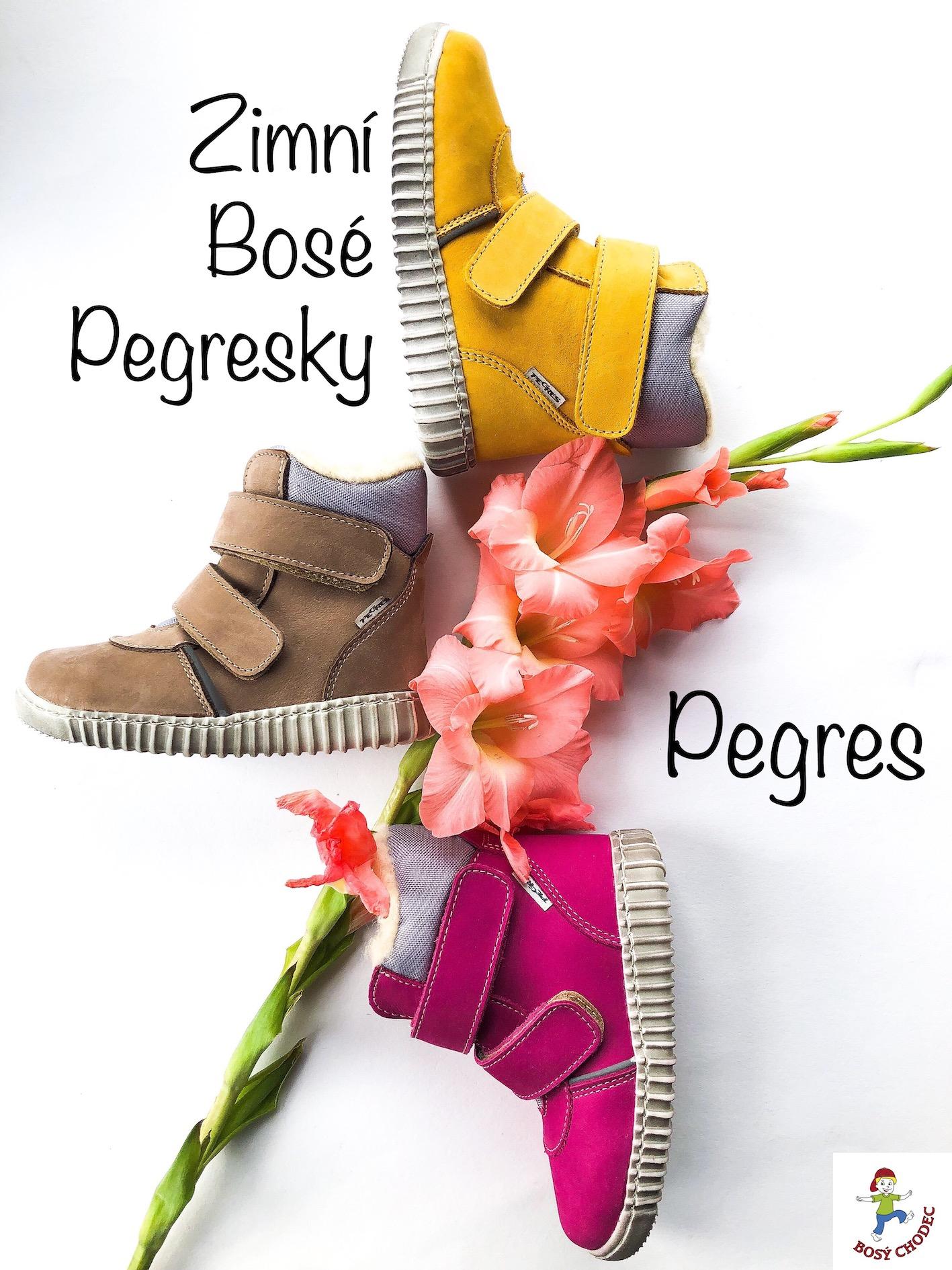 Pegres - zimní dětská obuv