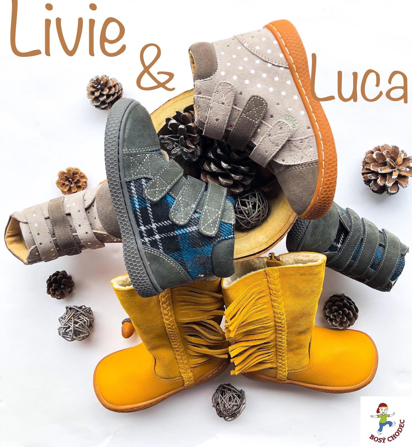 Livie and Luca - podzimní a zimní dětská obuv