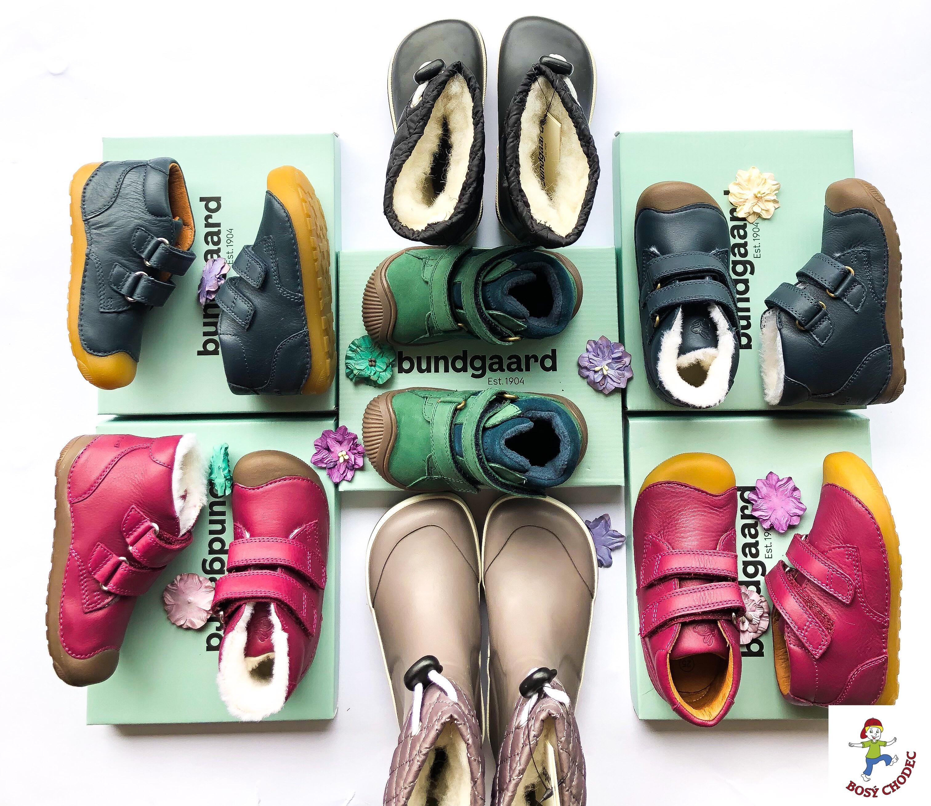 Bundgaard - celoroční, podzimní a zimní dětské boty