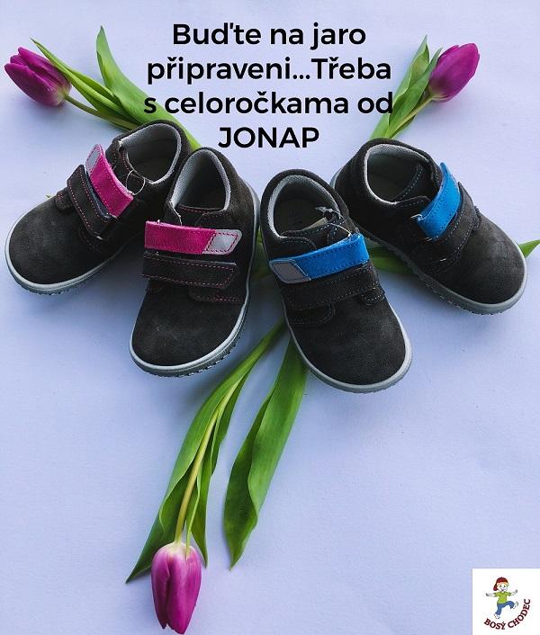 Barefoot celoroční boty Jonap