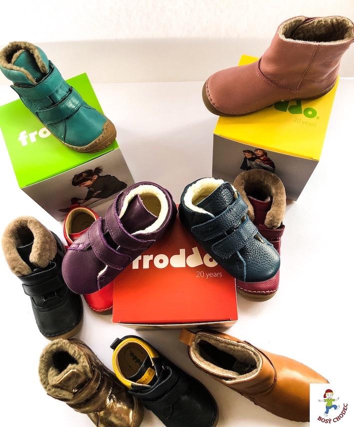 Froddo podzimní a zimní dětská obuv