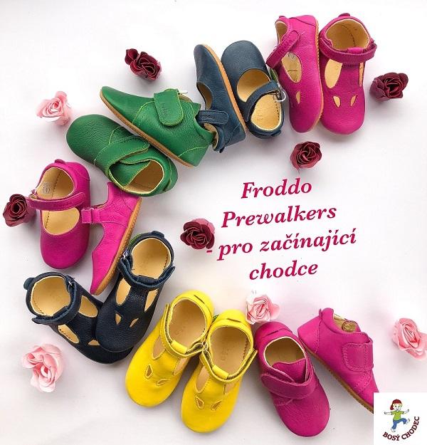Froddo prewalkers pro začínající chodce