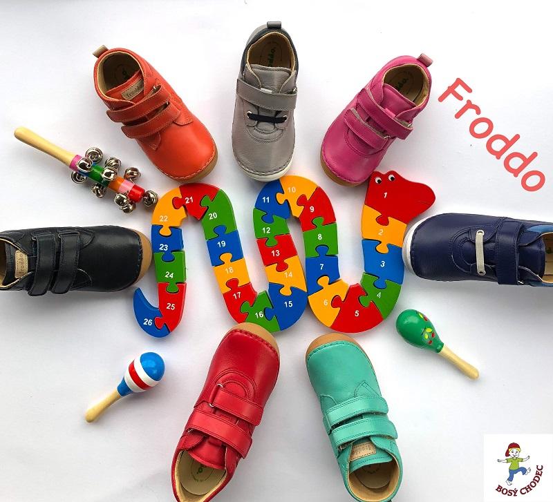 Froddo - celoroční dětské boty