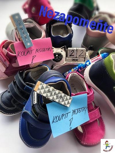 Protetika flexibilní dětská obuv