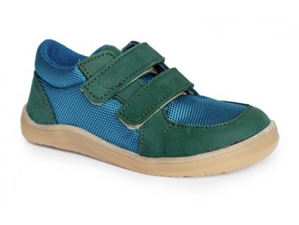 BOTY BABY BARE SHOES FEBO SNEAKERS - PINE/GREEN - ZELENÁ