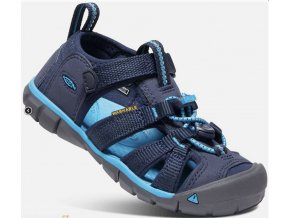 SANDÁLY KEEN SEACAMP II CNX BLACK IRIS/VIVID BLUE