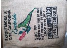 Jutové pytle od kávy