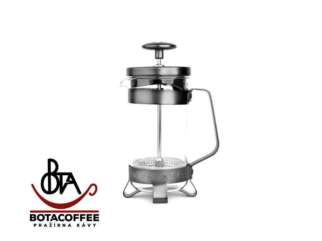 Barista & Co French Press 300 ml - Gunmetal