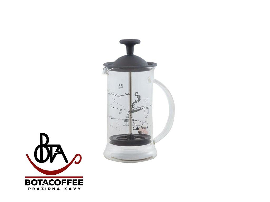 Hario Cafe Press Slim S Transparent Black