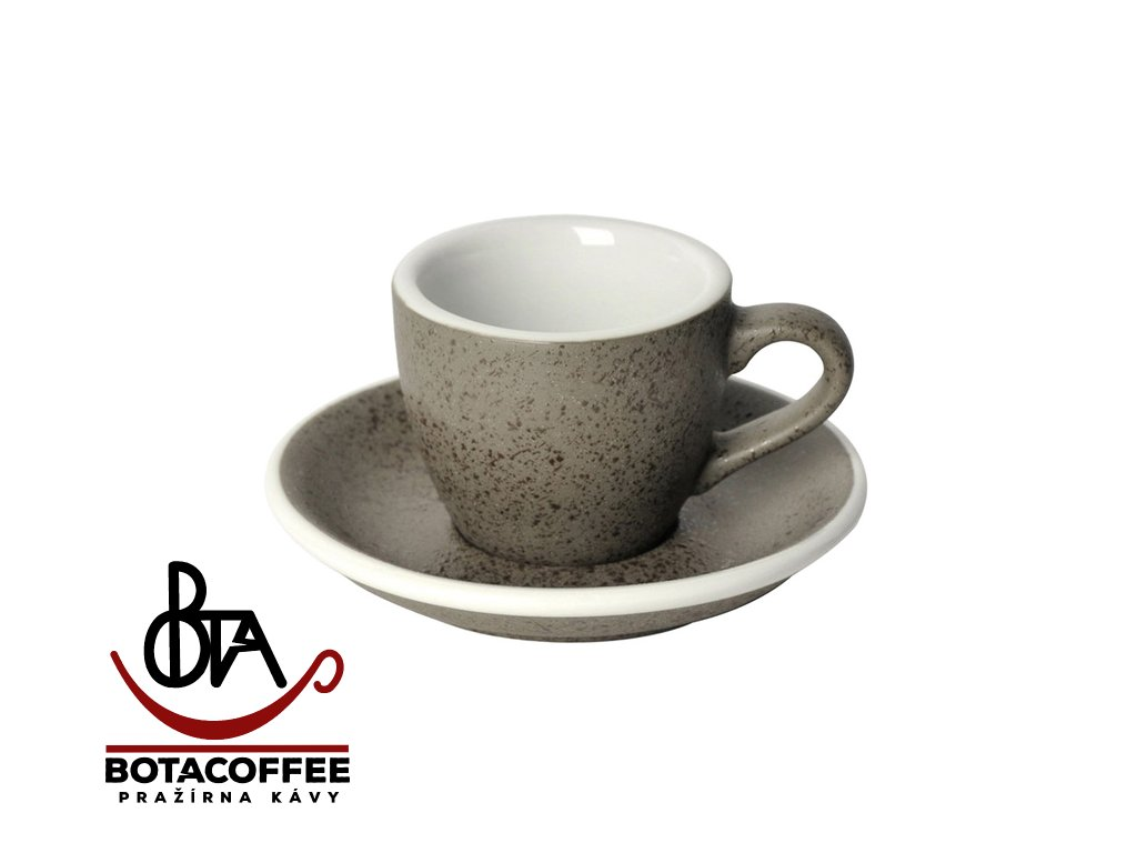 Loveramics Egg Espresso 80 ml Granite s podšálkem