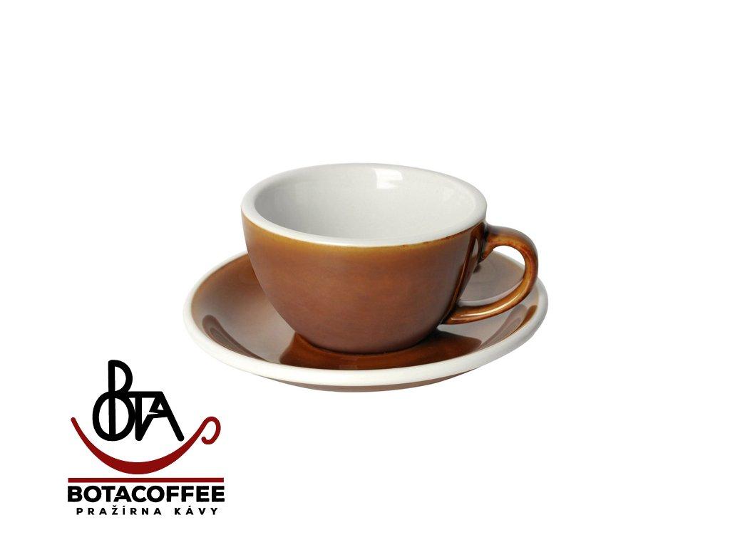 Loveramics Egg Cappuccino 200 ml Caramel s podšálkem