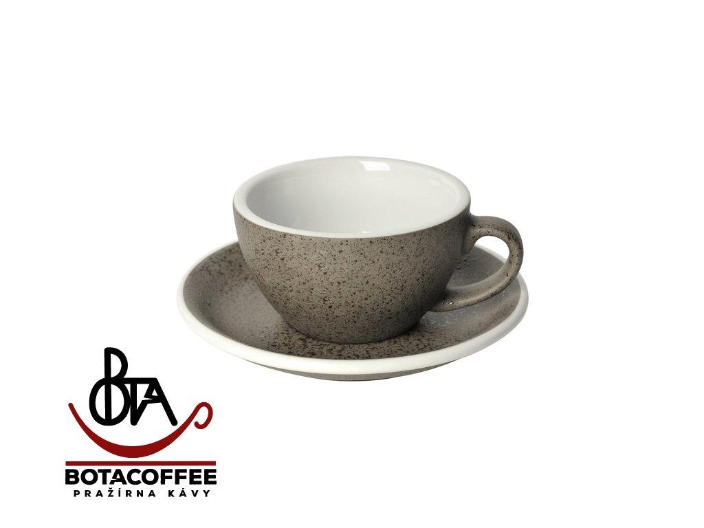 Loveramics Egg Cappuccino 200 ml Granite s podšálkem