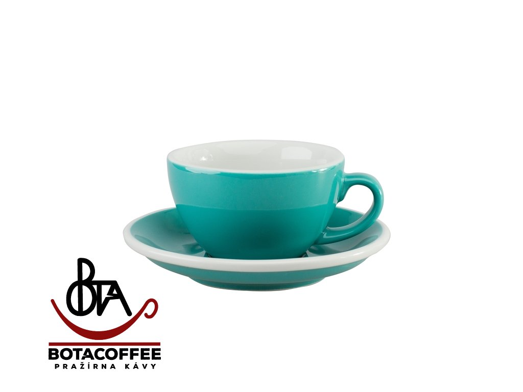 Loveramics Egg Cappuccino 200 ml Teal s podšálkem
