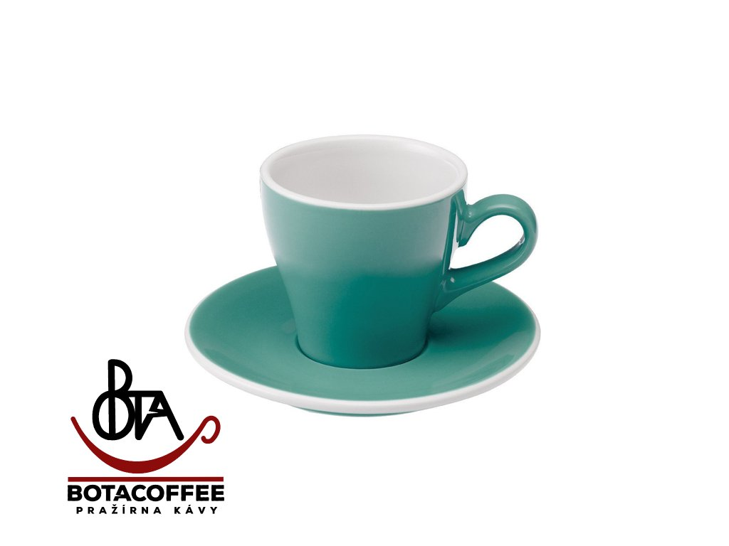 Loveramics Egg Cappuccino 180 ml Teal s podšálkem