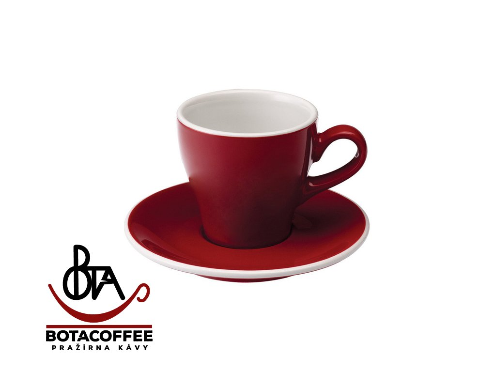 Loveramics Tulip Espresso 80 ml Red