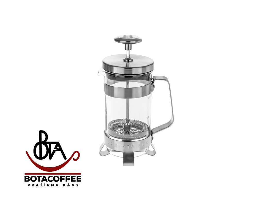 Barista & Co French Press 300 ml - Electric Steel