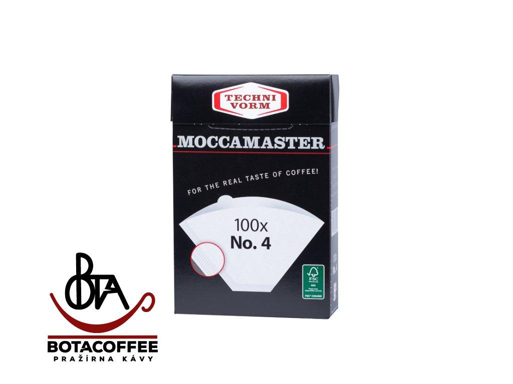 Originální filtry pro Technivorm Moccamaster vel. 4 (No. 4)