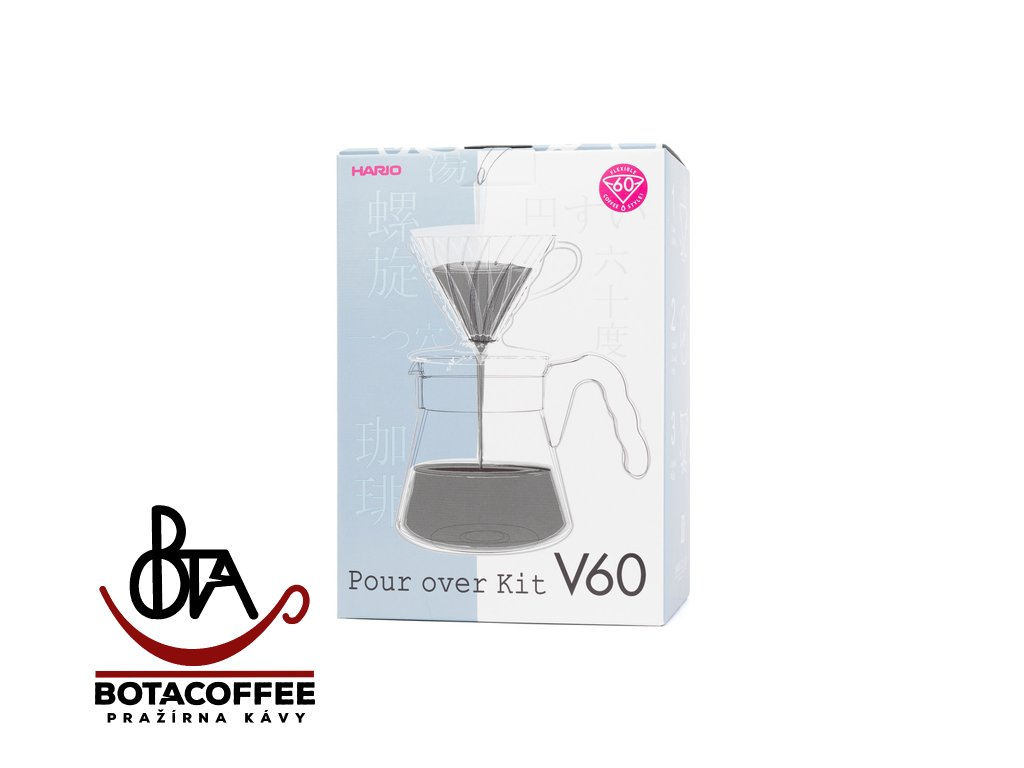 Hario Set V60-02 Plastic Transparent