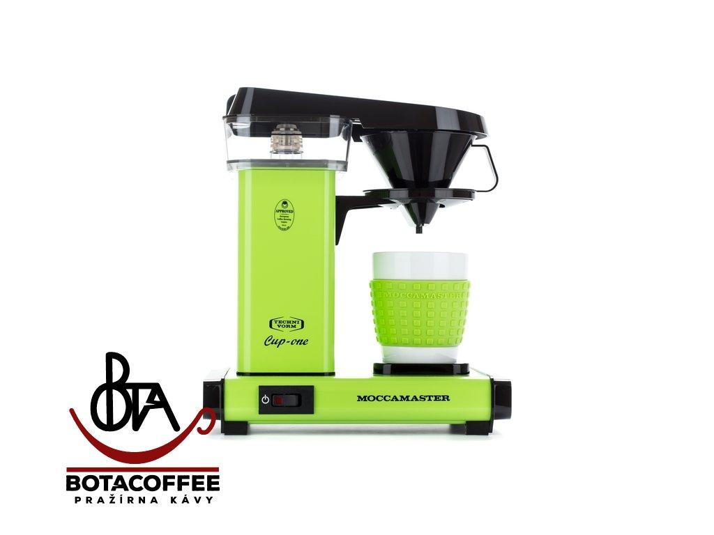 Technivorm Moccamaster Cup-One Fresh Green, přední pohled