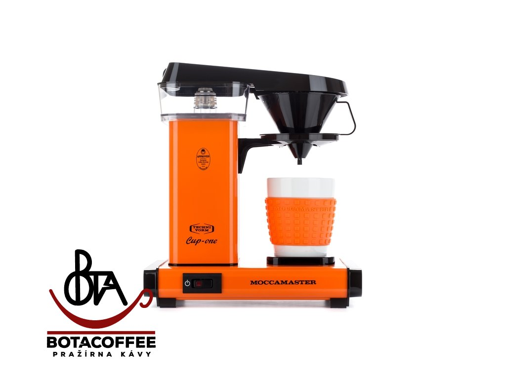 Technivorm Moccamaster Cup-One Orange, přední pohled